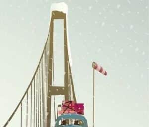 vissevasse - driving home for christmas