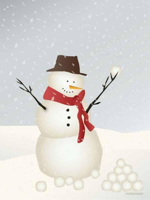 vissevasse snowman