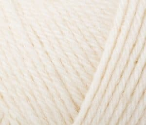 Rowan pure wool superwash worsted soft cream 102
