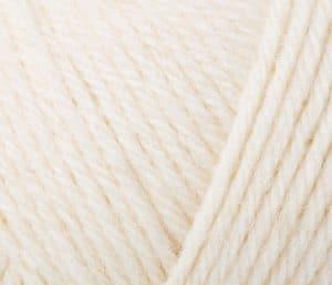 Rowan pure wool superwash worsted soft cream 102