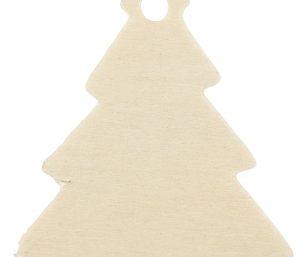 Juletræ pakkepynt natur træ