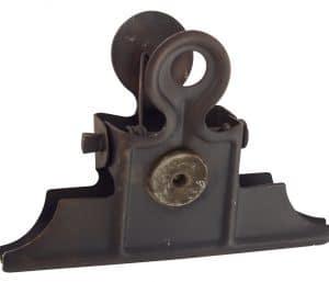Klemme m. magnet sort metal