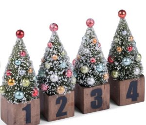 Medusa-Copenhagen advents juletræer 4 dele