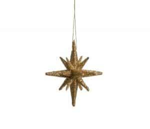 Medusa-Copenhagen stjerner 4 stk guld