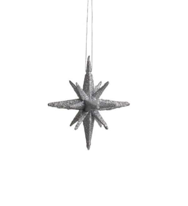 Medusa-Copenhagen stjerner sølv 4 stk