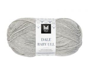 Baby Ull 04 lys grå