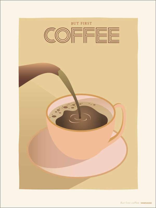 BUT FIRST COFFEE - Poster (primary)