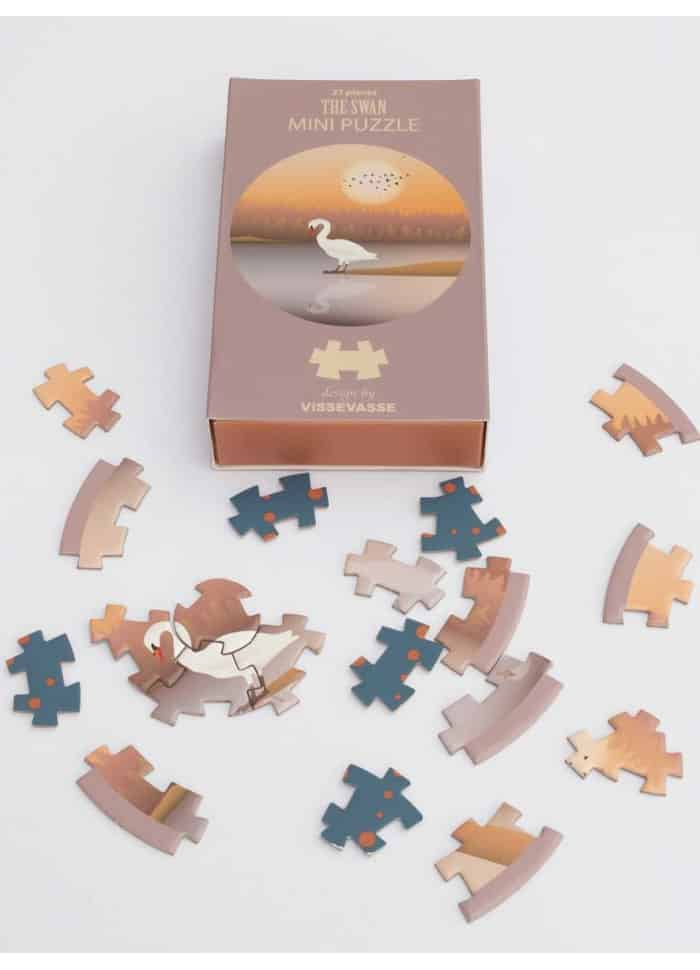 Vissevasse The swan - mini puzzle